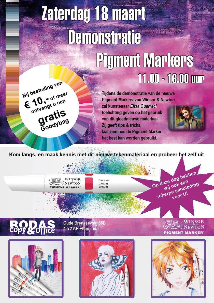 Pigmentmarkers demo | rodas-copy.nl